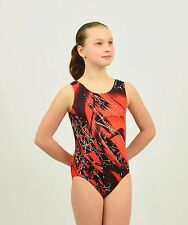 Competition Gymnastics Tank Leotard handmade size MED child or XSMALL adult