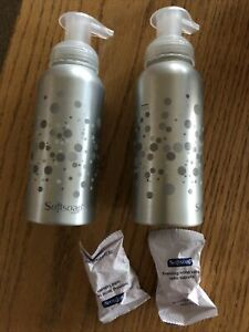 Softsoap Foaming Hand Soap Metal Containers And 2 Sparkling Lavender Tablets