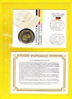 Numisbrief 1. Jahrestag der Deutschen Einheit 3.10.1990 - 3.10.1991