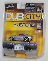 Jada DUB CITY KUSTOMS '06 CHEVY CAMARO CONCEPT WAVE 14 #151 1/64