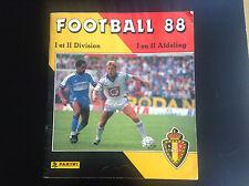 Album Panini Football 1988 Incomplet TBE