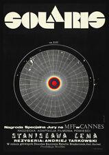 SOLARIS 1972 Polish – Andrei Tarkovsky – Movie Cinema Poster Art Print