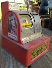 Antique Uncle Sam's Coin Register Bank With 1977 Charles Angel's Stickers On It!