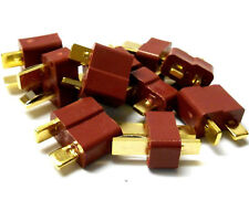 C0102 RC Battery T-Plug Plug Connector Male Female x 5 - v1 Best Set
