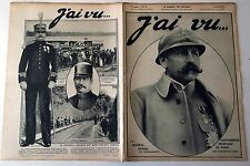 J'ai vu n°73- 1916 :  Général Dubail Gouverneur Militaire de Paris