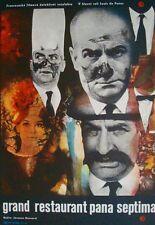 LE GRAND RESTAURANT Czech A3 movie poster LOUIS DE FUNES Jozef VYLET'AL Art