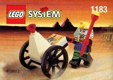 LEGO MUMMY & CART 1183 Set minifig minifigure Adventurers egyptian