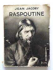 RASPOUTINE 1934 JEAN JACOBY ILLUSTRE