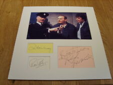 Porridge Ronnie Barker Genuine Signed Authentic Autographs - UACC / AFTAL.