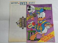 Micky Maus 1995 Nr: 27 Doppelheft 1937 mit allen Beilagen Disney Ehapa Sun 5