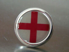 ENGLAND ST GEORGE FOOTBALL TIE LAPEL SUIT PIN NEW