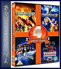 FANTASTIC 4 & RISE OF THE SILVER SURFER/MIGHTY MORPHIN POWER RANGERS PLUS TURBO