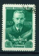 Russia French Scientist Pierre Curie stamp 1956
