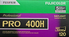 Fujifilm pro 400 H Roll Film 120 Pack of 5 Expiry Date 06/2020