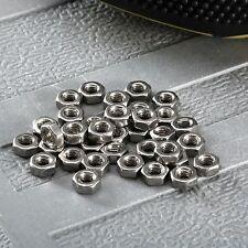 100Pcs Dia 3mm Stainless Steel M3 Hexagon Screw Nut Bolt Lock Cap Wholesale Lots