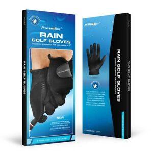 NEW PowerBilt Rain / Wet Weather Golf Gloves Pair - Choose Gender and Size!!