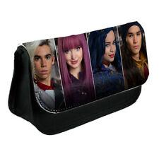 Disney Descendants 2, Black Pencil Case Or Make-Up Bag Gift