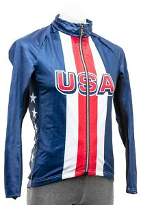 Assos Team USA MILLE GT Winter Jacket Men MEDIUM Olympic Road Bike Train Race