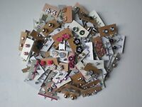 Wholesale lot of 100 Pairs of Assorted Stud Earrings New