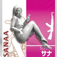 1/35 Sanaa Girls in Action Resin Model Kits Unpainted GK Unassembled