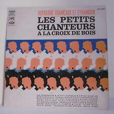 33T PETITS CHANTEURS CROIX BOIS Disque LP FOLKLORE FRANCAIS ETRANGERS + Livre