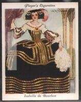 Isabella of Bourbon Countess of Charolais c80 Y/O Ad Trade Card