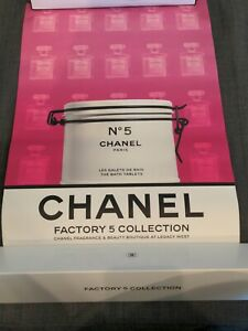 CHANEL No 5 Factory Poster Art Print Limited Edition RARE NIB Legacy West Pink