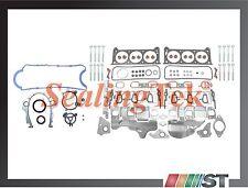 Fit 06-11 GM 3500 3900 Engine Full Gasket Set w/ Head Bolts Kit 3.5 3.9 V6 motor
