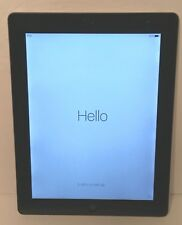 "iPad 3rd Gen 16GB Apple Wi-Fi 9.7"" Black MC705LL/A A1416 Engraved (iPad Only)"