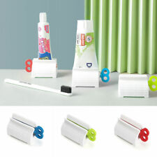 4PCS Toothpaste Dispenser Tube Squeezer Cream Extract Rolling Press Tube Roller