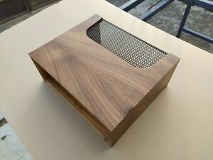 Marantz wood case cabinet wc-10 walnut lacquer mat