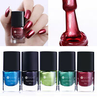 6ml Metallic Nail Polish Mirror Shiny Varnish  Decoration Tool UR SUGAR