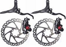 Par De Freno Hidráulico De Disco Clarks Frenos De Montaña Bicicleta Bici Incluye Rotores 160mm
