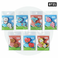 BTS BT21 Official Authentic Goods Character Badge Baby Ver + Tracking