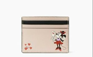 Kate Spade X Disney Minnie Mouse Wallet ID Case Card Holder
