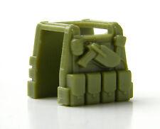 Light Olive P1 (W115) Tactical Vest Compatible with toy brick minifigures SWAT
