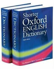 Shorter Oxford English Dictionary, Fifth Edition