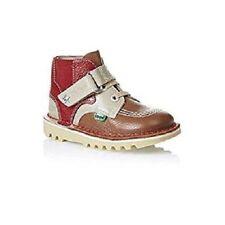 Scarpe stivali Kickers per bambini dai 2 ai 16 anni marrone