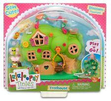 LALALOOPSY TINIES BLOSSOM FLOWERPOT TREEHOUSE **BRAND NEW**