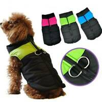 Waterproof Puppy Pet Dog Clothes Hoodie Winter Warm Sweater Coat Costume Apparel
