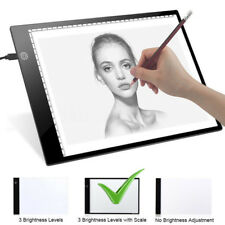 Adjustable Brightness A4 LED Stencil Board Drawing Tracing Light Box Copy Pad AU