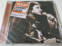 SETLIST - THE VERY BEST OF JOHNNY CASH LIVE - 2013 CD (888837219426) - NEU!
