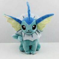 "Pokémon Seated Vaporeon Plush Stuffed Animal Toy 6"" US Seller"