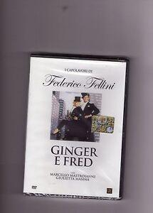 """FEDERICO FELLINI - """"GINGER E FRED"""" con M.MASTROIANNI FILM DVD NUOVO, SIGILLATO!"""