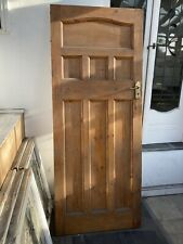 More details for three antique pine internal doors