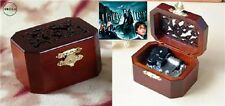 CLASSIC OCTAGON WOOD WIND UP MUSIC BOX :  Harry Potter Theme Soundtrack