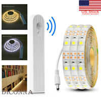 1-3M LED Wireless PIR Motion Sensor Wardrobe Cabinet LED Strip Bed Night Light