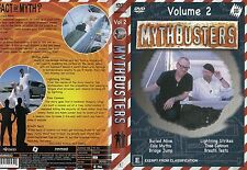MYTHBUSTERS - Volume 2 - NEW - Never played!! - Region 4 PAL