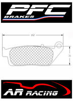 Performance Friction Race Brake Pads 95 Comp to fit Honda CBR 400 RR 1990-1994