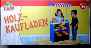 """Holzkaufladen für Kinder """"PLAYLAND"""" +neu und ovp++"""